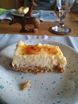 Creme Brule Cheesecake
