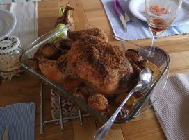 Roast Chicken 5 April